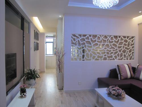 58平米小户型样板房客厅